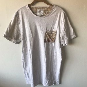 T Shirt With Accent Pocket